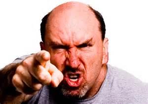 angry parishioner