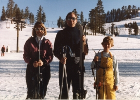 Denn skiing